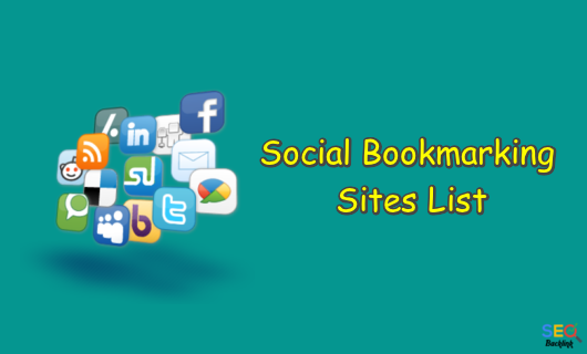 Social Bookmarking Sites List – Updated DA, PA, Moz and Alexa Rank