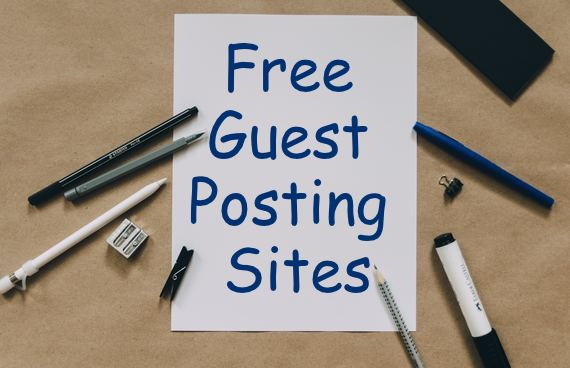 Free Guest Posting Sites List - seobacklink