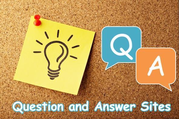 Top Question and Answer Sites List – High DA Q&A Sites